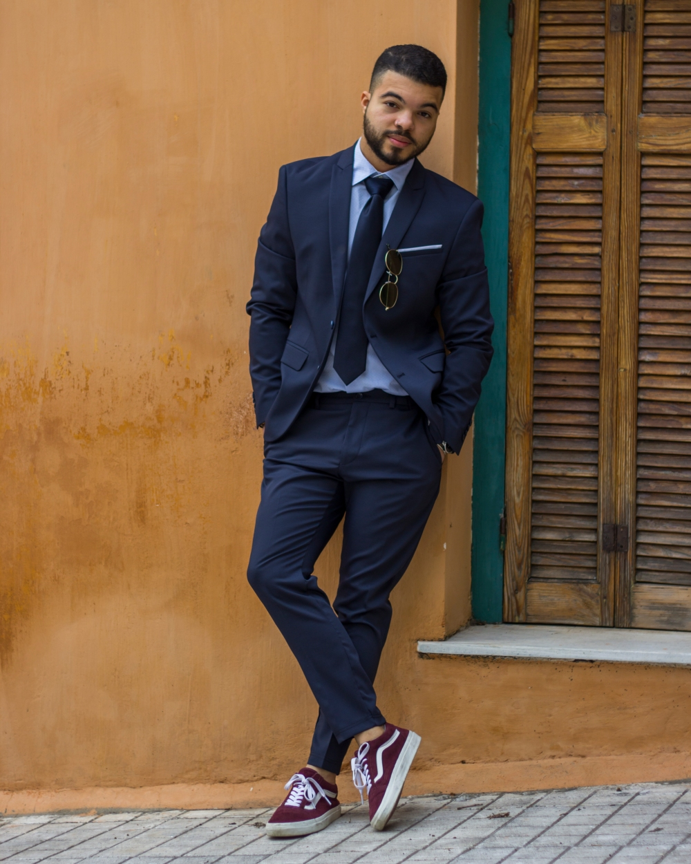 LewysMaceo_StealHisStyle_JustNatonya_navy blue suit