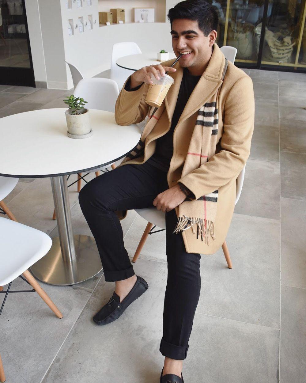 Zain Bhai-JustNatonya-StealHisStyle-trench-coat-and-scarf