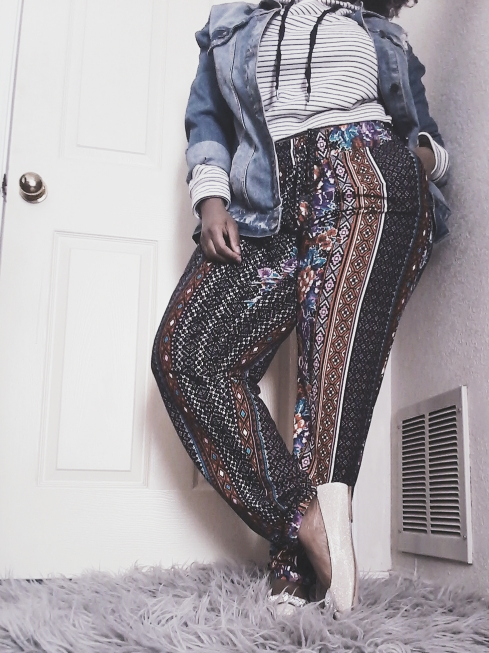 JustNatonya Style Inspiration: How to Wear Layers and Mixed Prints
