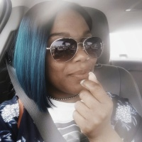 First Impressions: Bobbi Boss Lyna Lace Front Teal Bob Wig