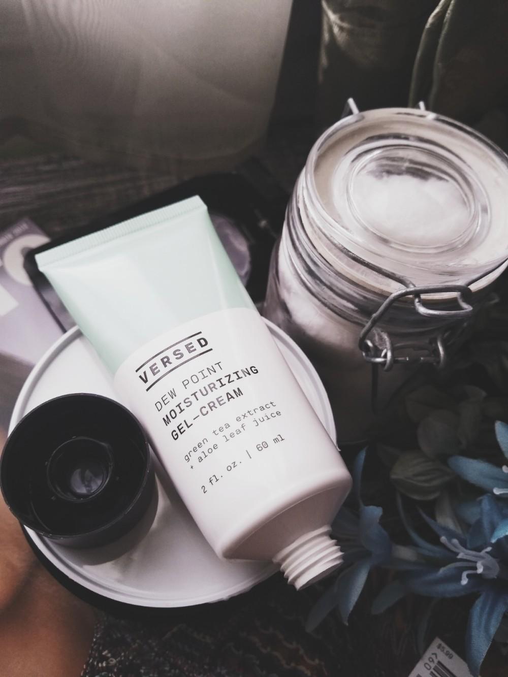 Versed Skincare Dew Point Moisturizing Gel-Cream Review- JustNatonya