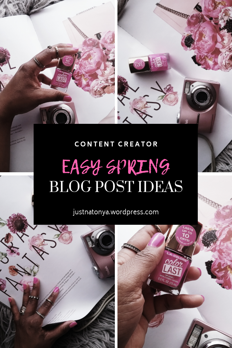 Fashion Beauty Lifestyle | A list of Spring Blog Post Topics